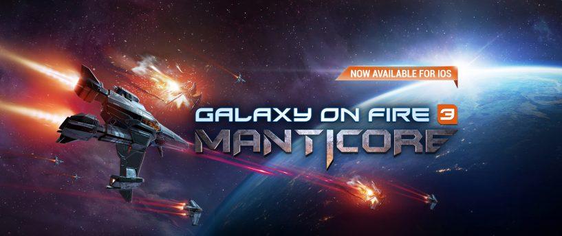 Galaxy on Fire 3 - Manticore à présent ouvert aux pré-enregistrements sur Android