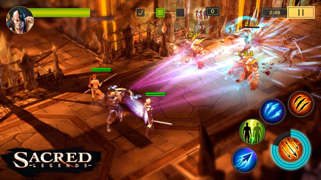 Sacred Legends Screenshot 1