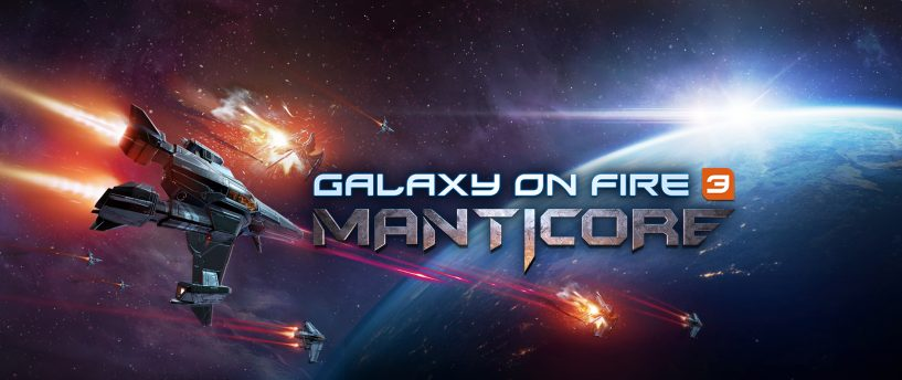 Sortie mondiale de Galaxy on Fire 3 – Manticore sur l'App Store iOS