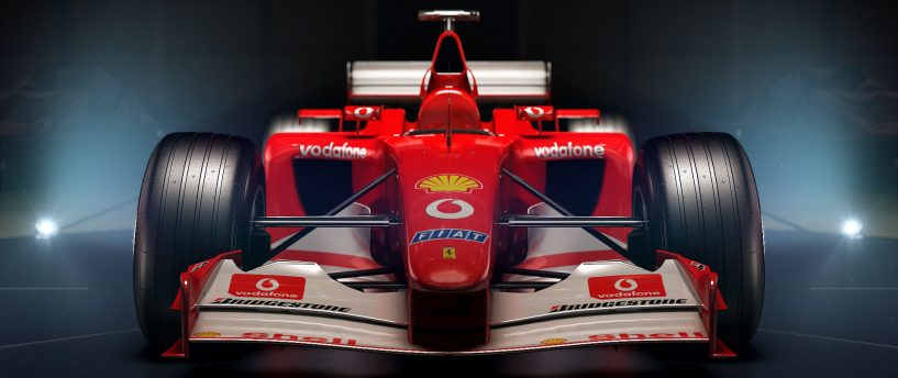 F12017 TO FEATURE FOUR HISTORIC FERRARIS