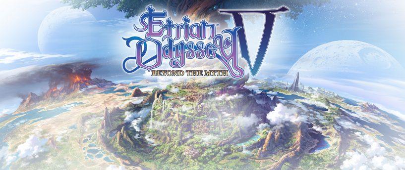 Tráiler de lanzamiento de The Etrian Odyssey V: Beyond The Myth - a la venta el 3 de noviembre