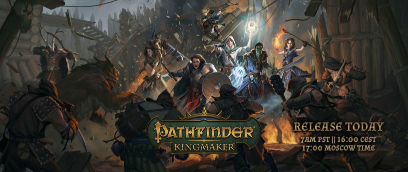 Pathfinder: Kingmaker Releases Today!
