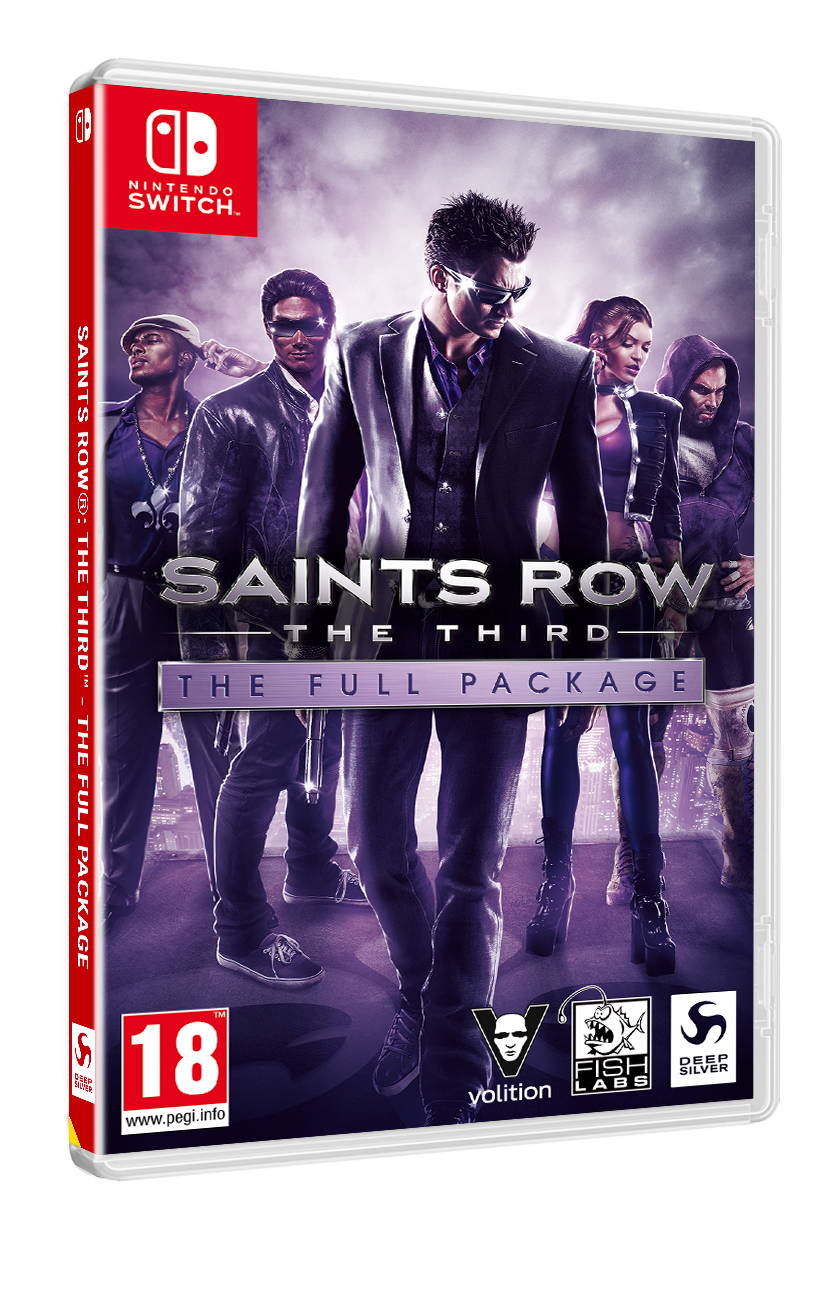 Saints Row: The Third – The Full Package on Nintendo Switch