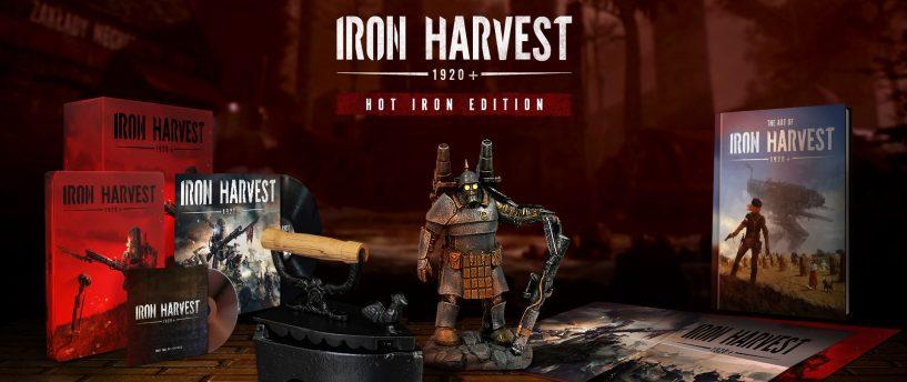 En detalle las ediciones Iron y coleccionista de Iron Harvest 1920+