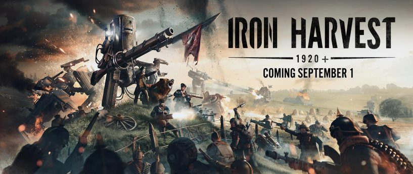 Iron Harvest 1920+ Story Trailer revealed!