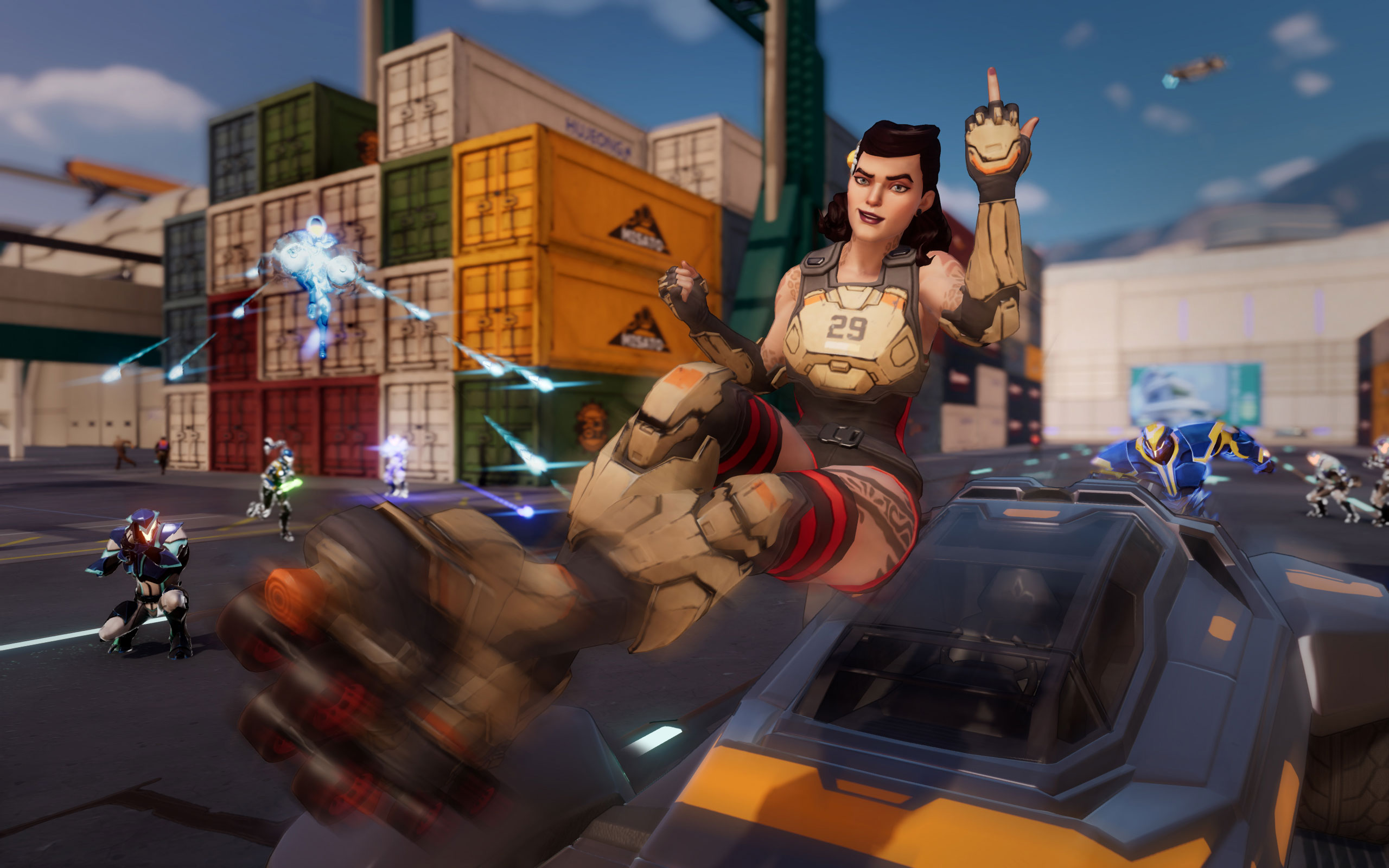 Agents Of Mayhem gameplay trailer
